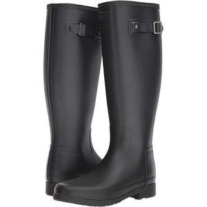 New Hunter Original Refined Rain Boots Black Matte